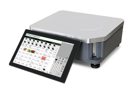 ACS-S100 Monitor aan weegschaal